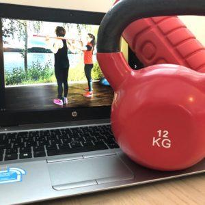 Liikuntapalvelut verkossa